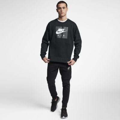 4a7b07f1 Мужской флисовый свитшот Nike Air 886050-010, цвет: чёрный - цена ...