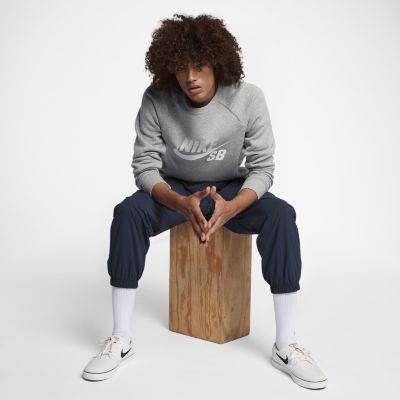 NIKE   Синий Мужские брюки из тканого материала Nike SB Flex   Clouty