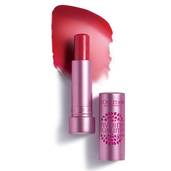L'Occitane | Бальзам для губ Пион, розовый | Clouty