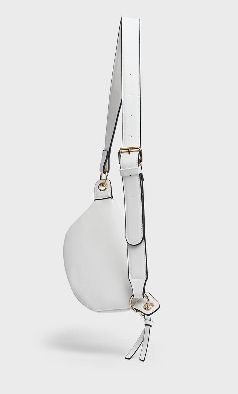 Stradivarius | Stradivarius Поясная Сумка С Кольцами Женская Коллекция Белый 103 | Clouty
