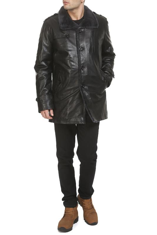 Giorgio | Черный Куртка Giorgio | Clouty