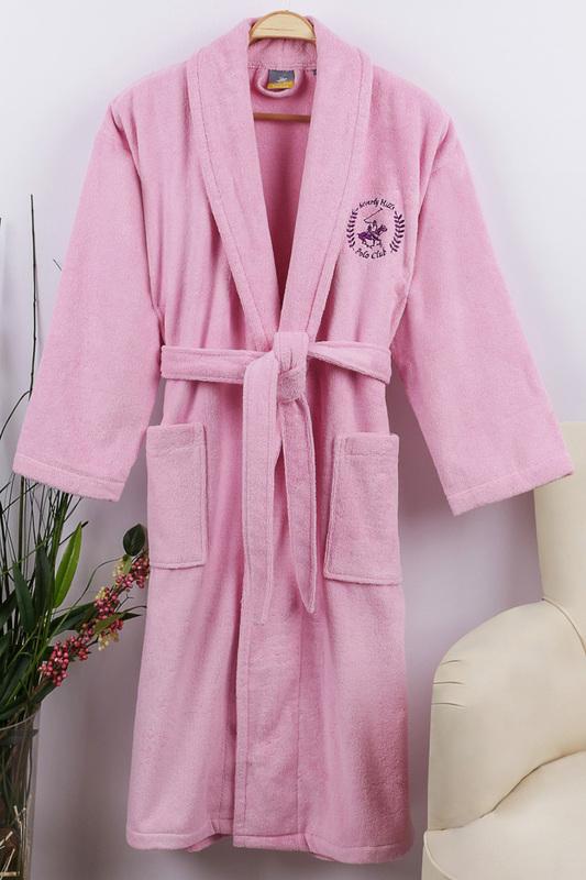 Beverly Hills Polo Club | Pink Bathrobe Beverly Hills Polo Club | Clouty