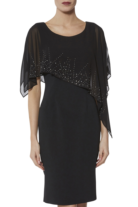 Gina Bacconi | Black dress Gina Bacconi | Clouty