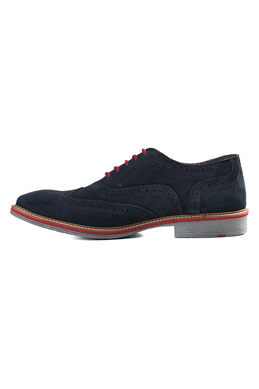 Roamers | Navy brogues ROAMERS | Clouty