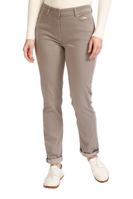 Ppep | Dark beige pants PPEP | Clouty