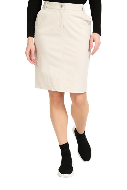 Ppep | Light beige skirt PPEP | Clouty