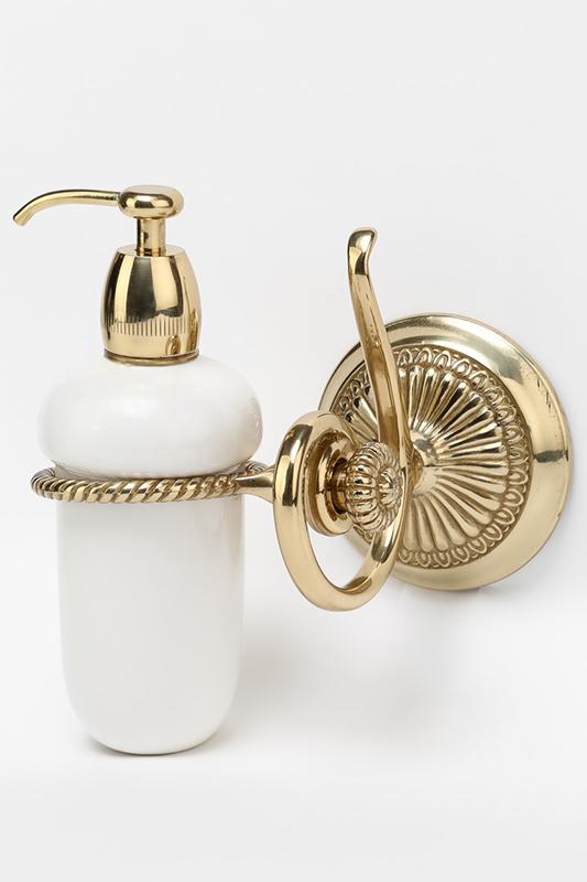 Stilars   Золотой Дозатор для жидкого мыла Stilars   Clouty