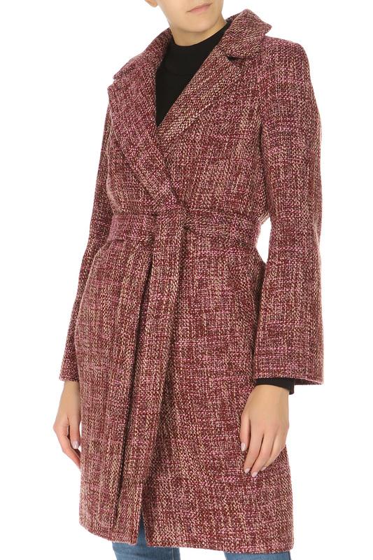 Anora   Красный Пальто Анора   Clouty