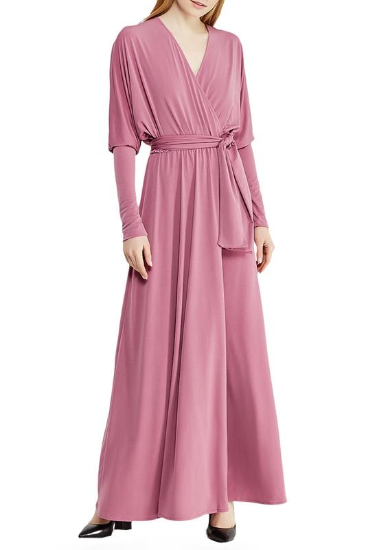 Alina Assi | Пепельно-розовый Платье Alina Assi | Clouty