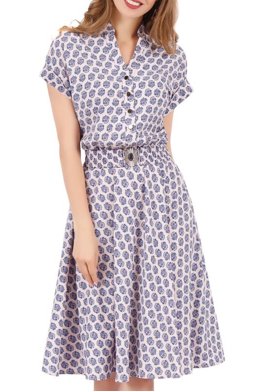 Olivegrey | Розовый, синий Платье Olivegrey | Clouty