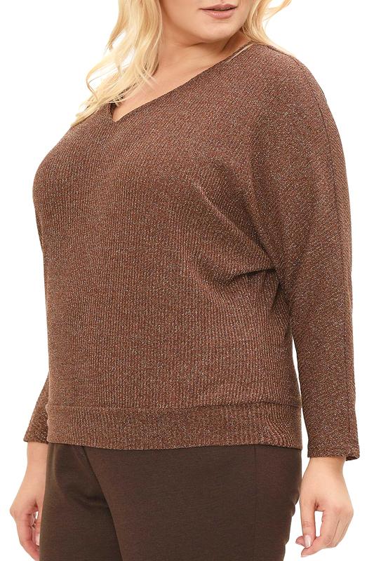 Svesta | Коричневый Пуловер Svesta | Clouty