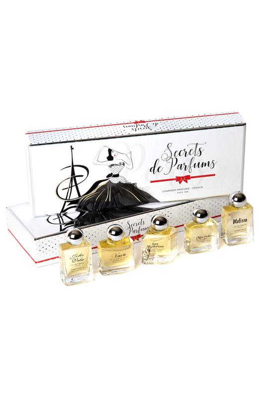 CHARRIER PARFUMS | Мультиколор Secrets de Parfum 5 шт. CHARRIER PARFUMS | Clouty
