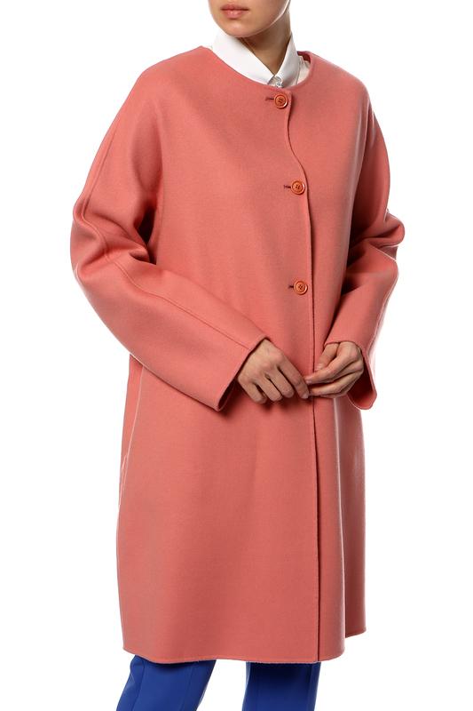 MAX MARA | Розовый Пальто Max Mara | Clouty