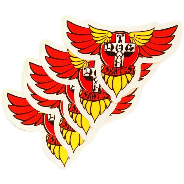 Dogtown & Suicidal   Красный Наклейка Dogtown&Suicidal Wings   Clouty
