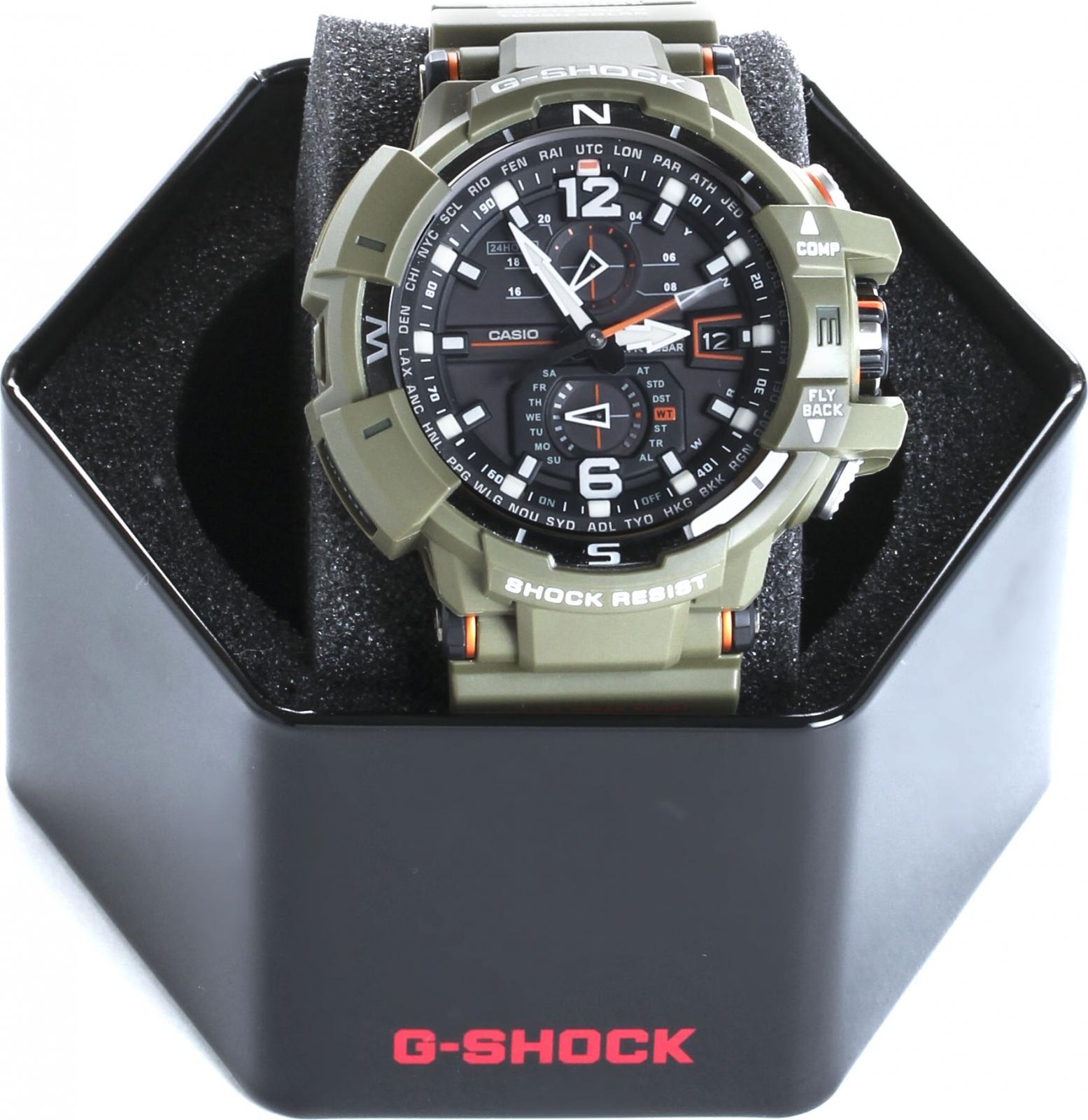 G-SHOCK   Casio G-shock Gravitymaster GW-A1100KH-3A   Clouty