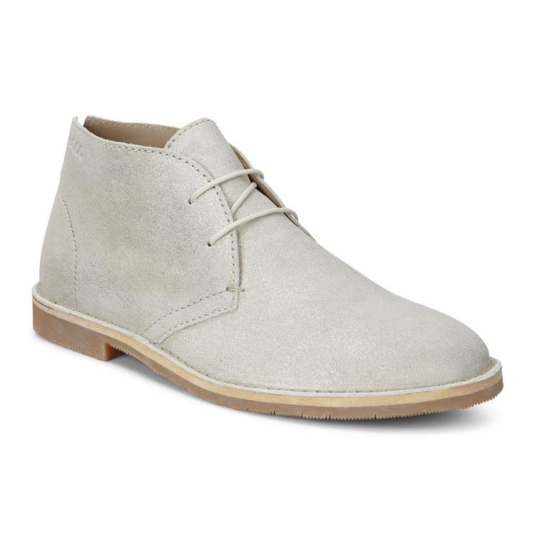 Ecco | Белый Ботинки TRIPOLI | Clouty