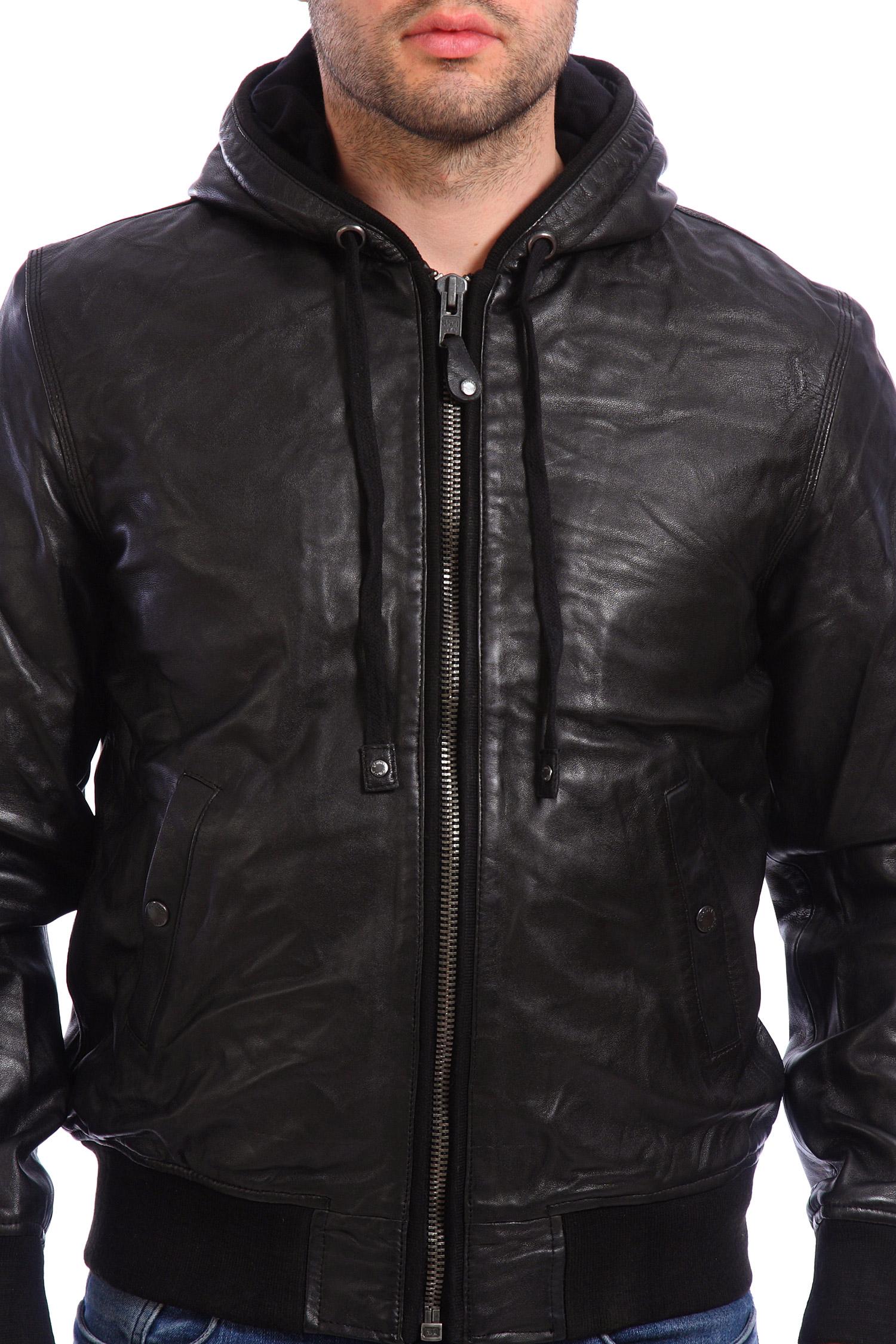 кожаные куртки с капюшоном мужские фото школу