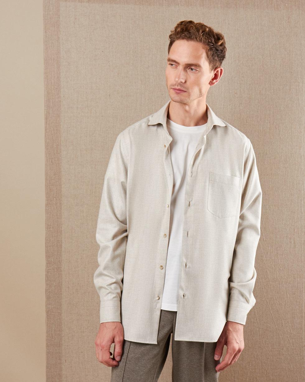 12Storeez   Рубашка свободного кроя с карманом XL   Clouty