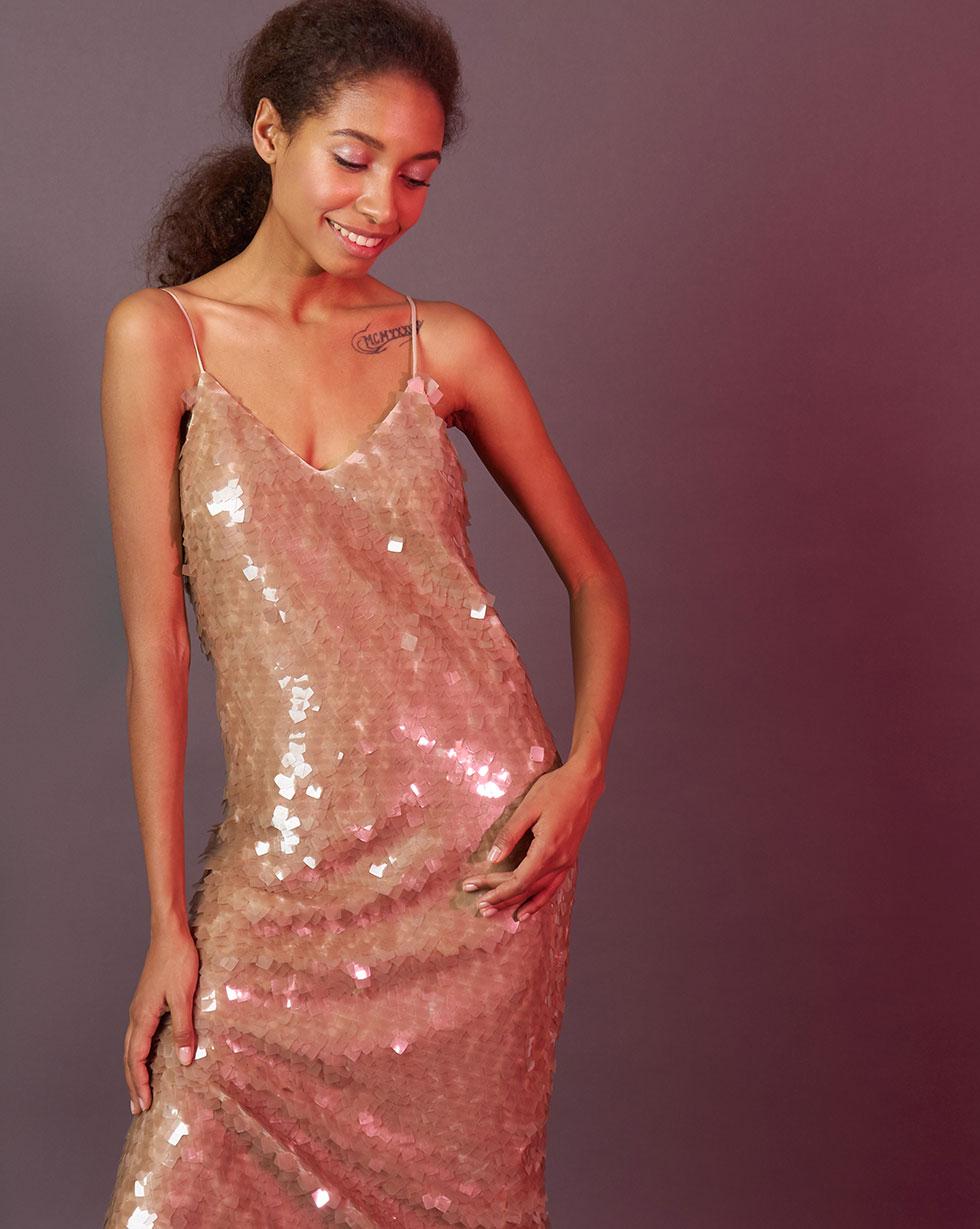 12Storeez | Платье из пайеток S | Clouty