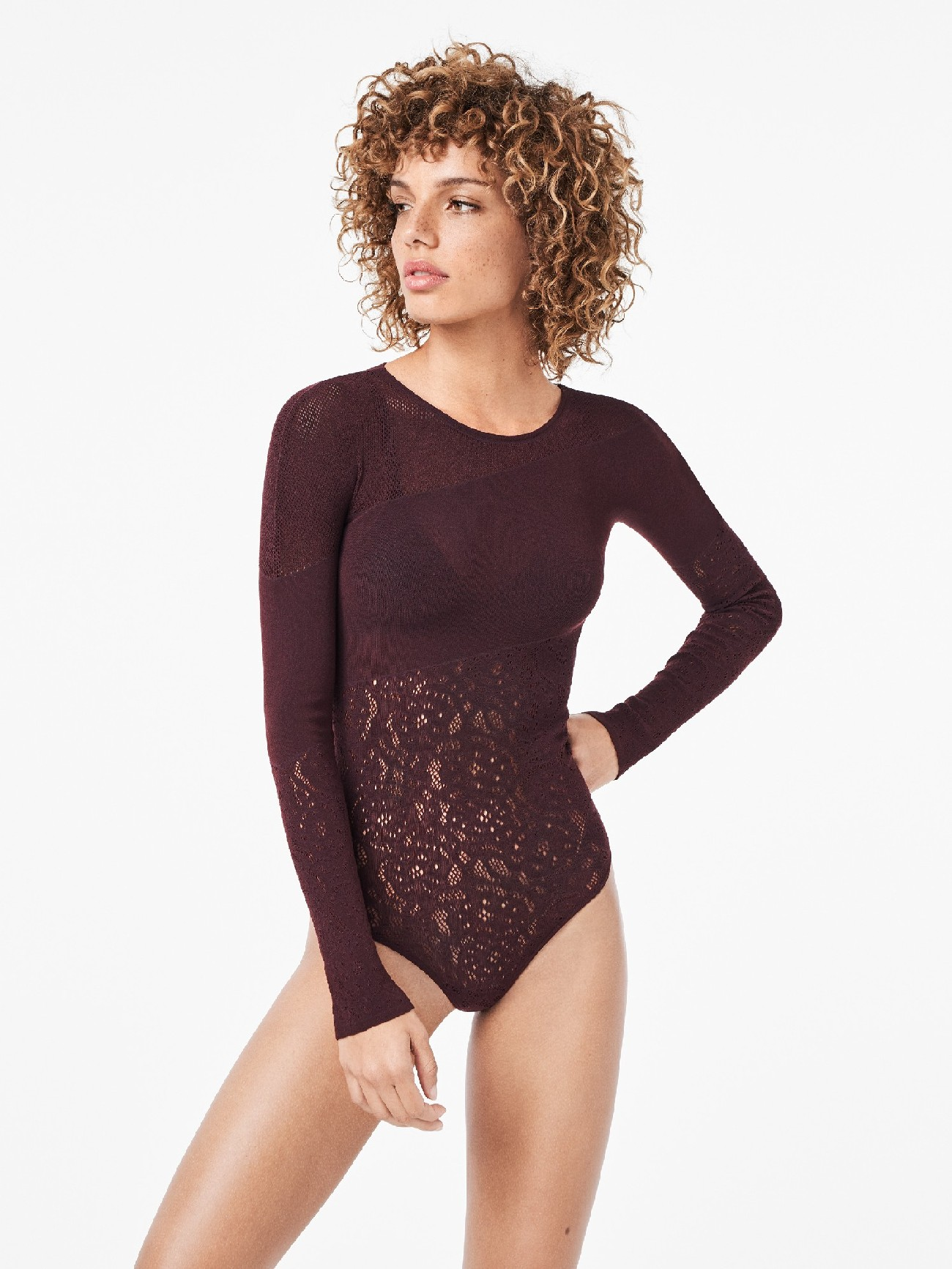 Wolford   poison dart net string body   Clouty