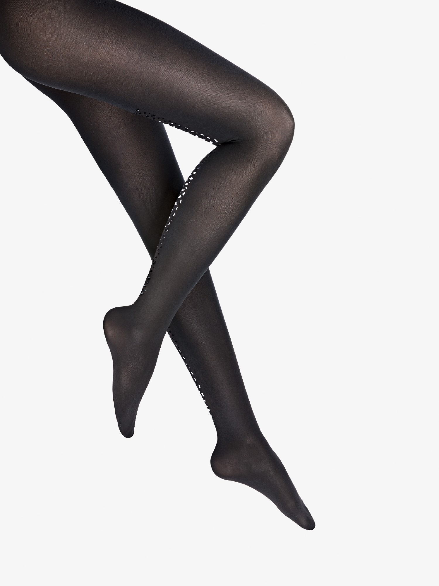 Wolford | snake shimmer back seam tights | Clouty