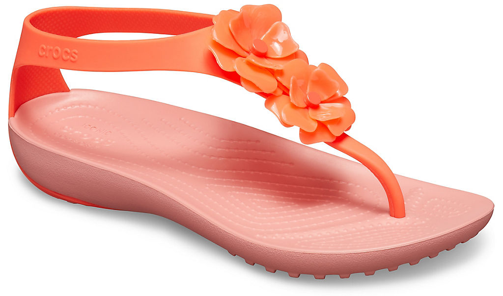 Crocs | 6PT Women's Crocs Serena Embellished Flip | Clouty