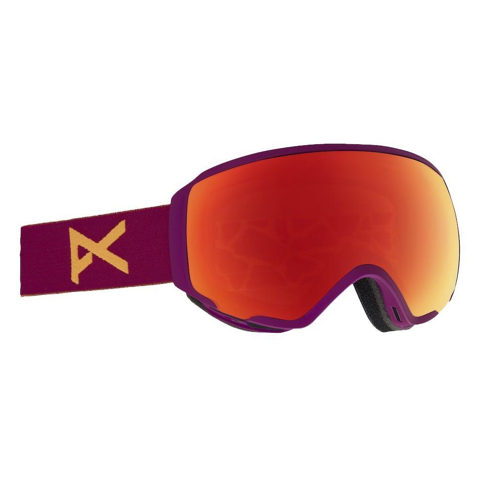 Anon | Фиолетовый Маска сноубордическая Anon WM1 MFI | Clouty