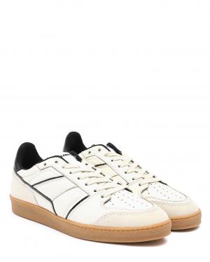 AMI | Кеды кожаные на шнурках | Clouty