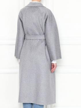 MAX MARA | Пальто из кашемира свободного кроя с поясом | Clouty