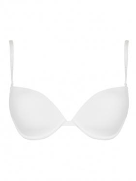 La Perla | Бюстгальтер однотонный с кружевными вставками | Clouty