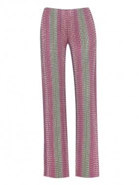 Max & Co. | Трикотажные брюки свободного кроя с узором | Clouty