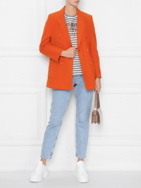 Max & Co. | Жакет хлопковый с накладными карманами | Clouty