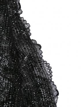 Ermanno Scervino | Боди из кружева декорированное стразами | Clouty