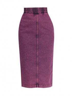 No. 21 | Джинсовая юбка-карандаш | Clouty