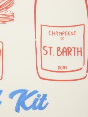 MC2 Saint Barth | Футболка из хлопка с принтом | Clouty