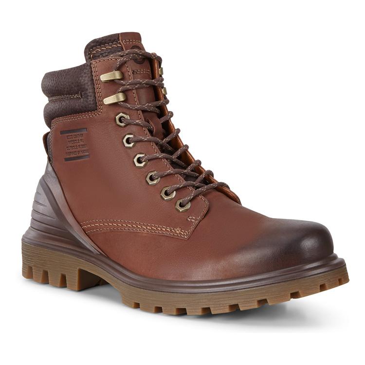 Ecco | Коричневый Ботинки высокие TRED TRAY | Clouty