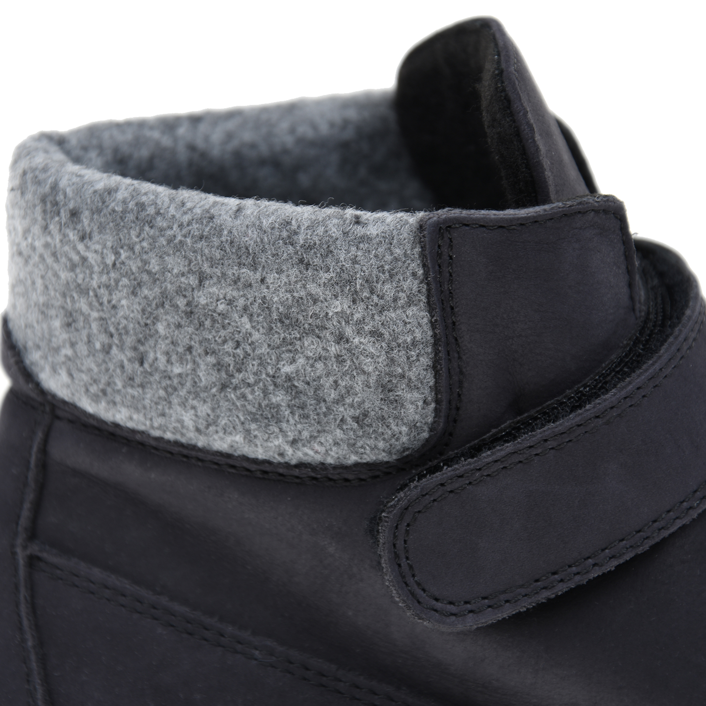 Chérie | Нубуковые ботинки на липучках CHERIE детские | Clouty