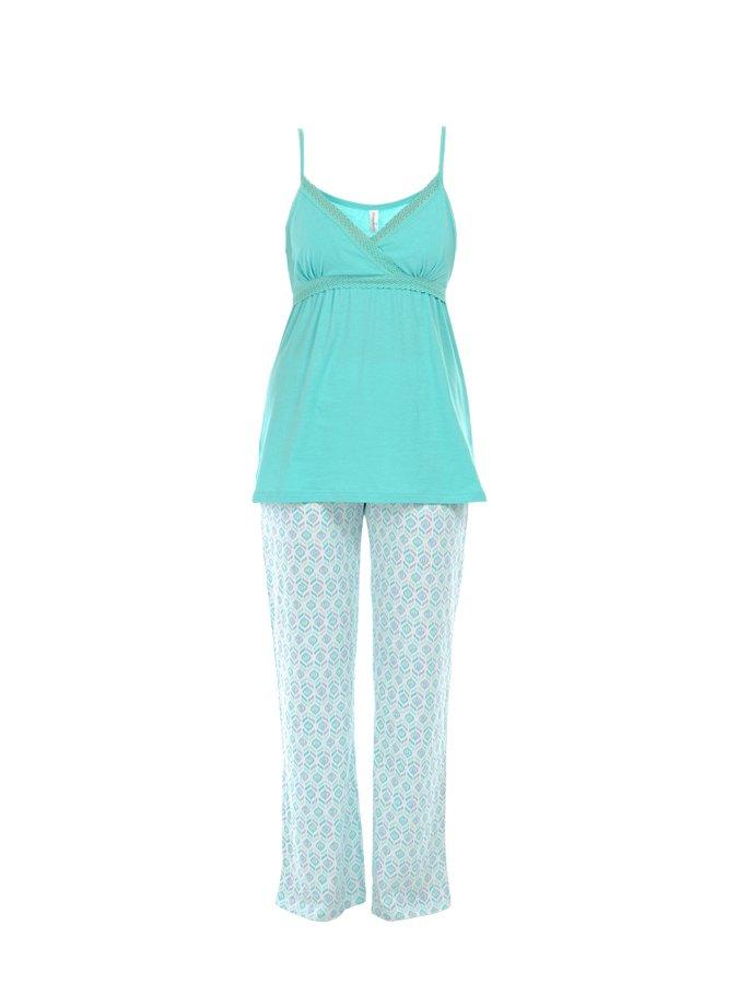 Belabumbum | Голубая пижама из хлопка Belabumbum | Clouty