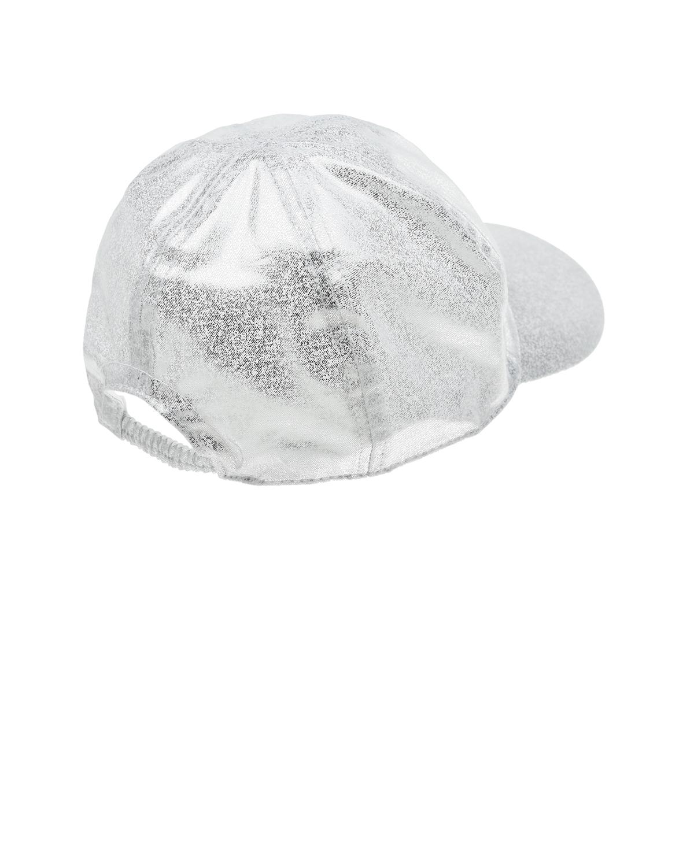 Catya | Хлопковая кепка с серебристым напылением Catya | Clouty