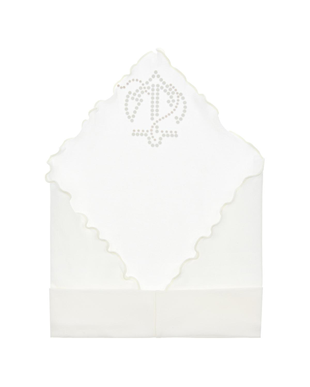 Joli Bebe | Белая косынка с якорем из страз Joli Bebe | Clouty