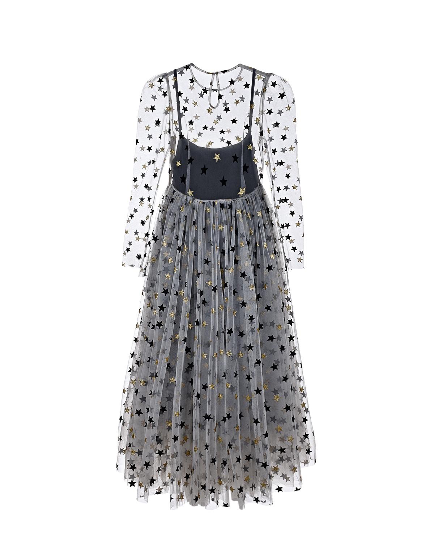 "Dan Maralex | Платье с декором ""звезды"" Dan Maralex | Clouty"