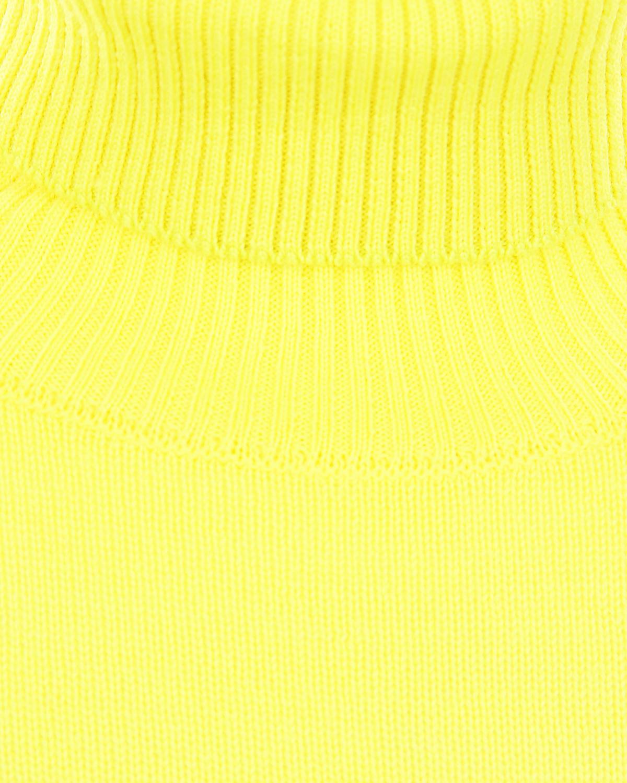 Arc-en-ciel | Желтая шерстяная водолазка Arc-en-ciel детская | Clouty