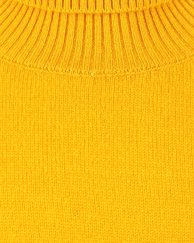 Arc-en-ciel | Желтая водолазка из кашемира Arc-en-ciel детская | Clouty