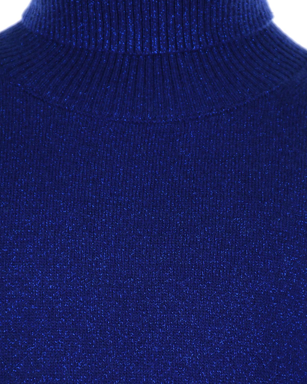Arc-en-ciel | Синяя водолазка из смесовой шерсти Arc-en-ciel детская | Clouty