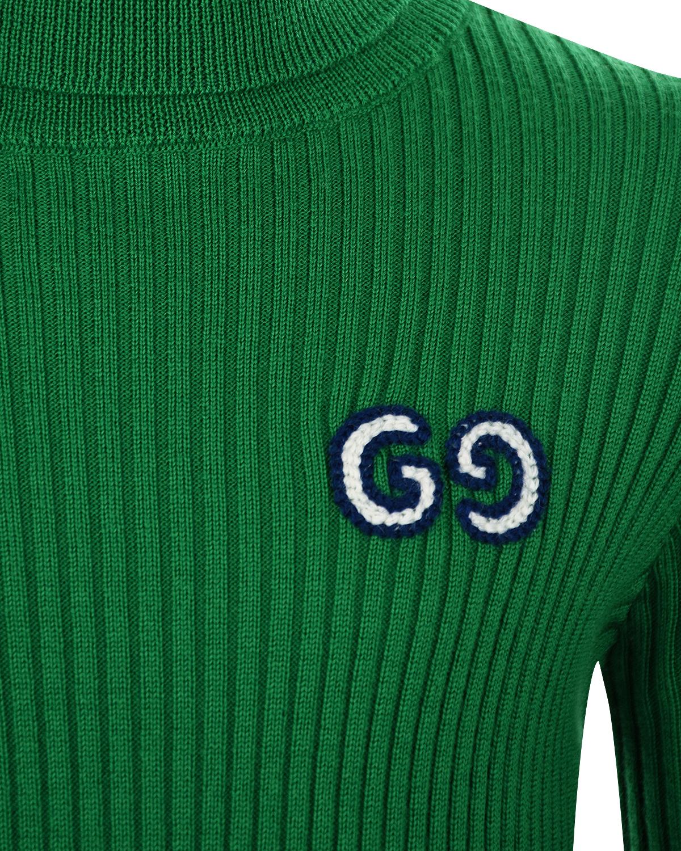 GUCCI | Зеленая водолазка из шерсти GUCCI детская | Clouty