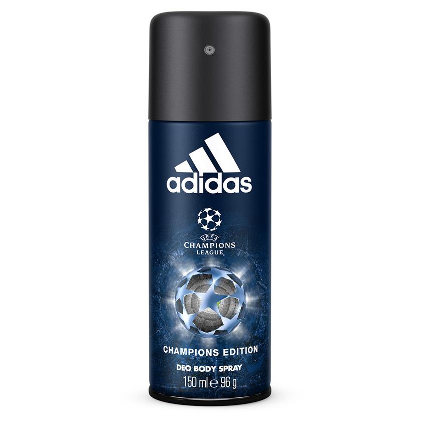 adidas   ADIDAS Дезодорант-спрей для мужчин UEFA Champions League Champions Edition   Clouty
