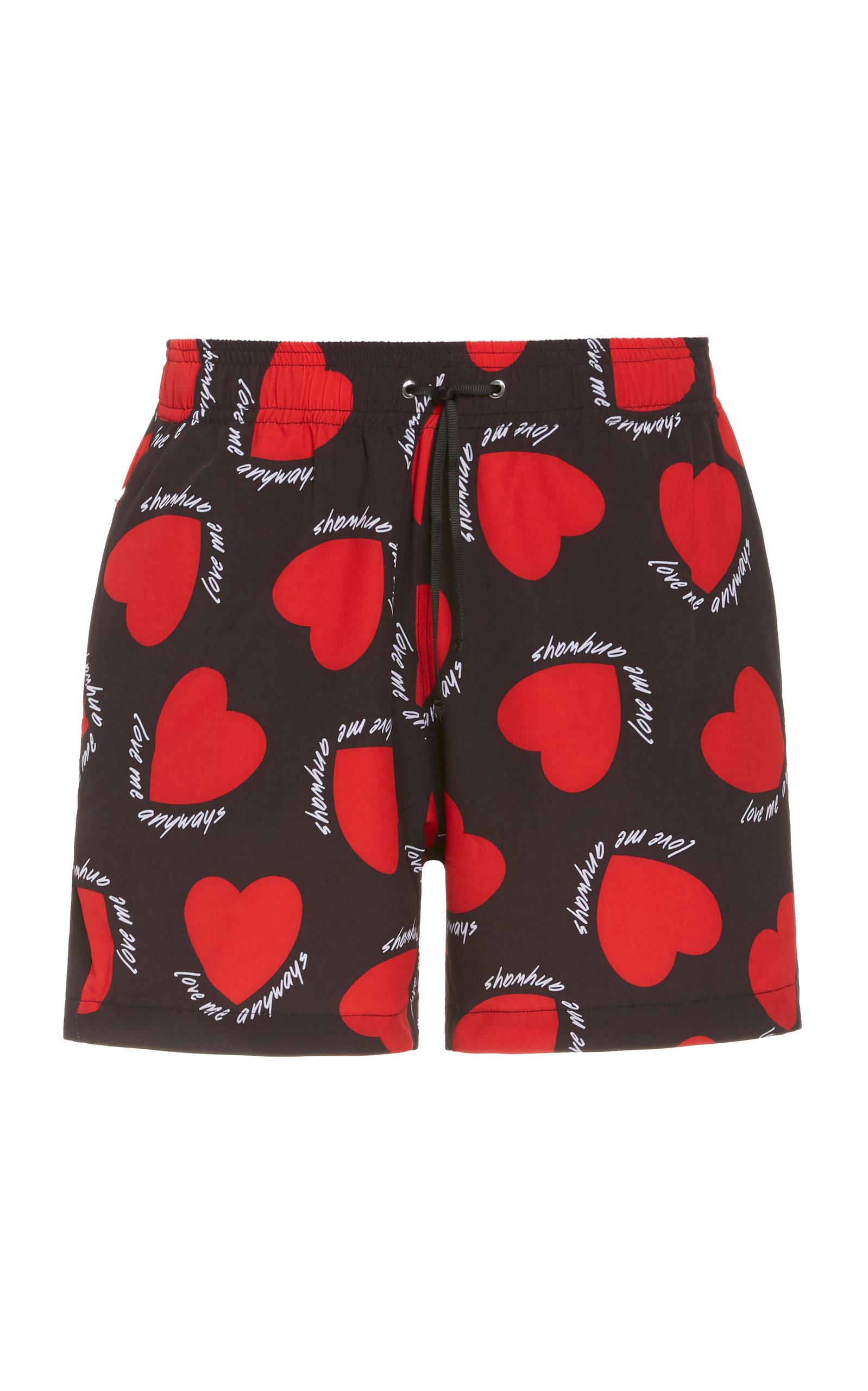 Amiri | Amiri Hearts Printed Swim Shorts | Clouty