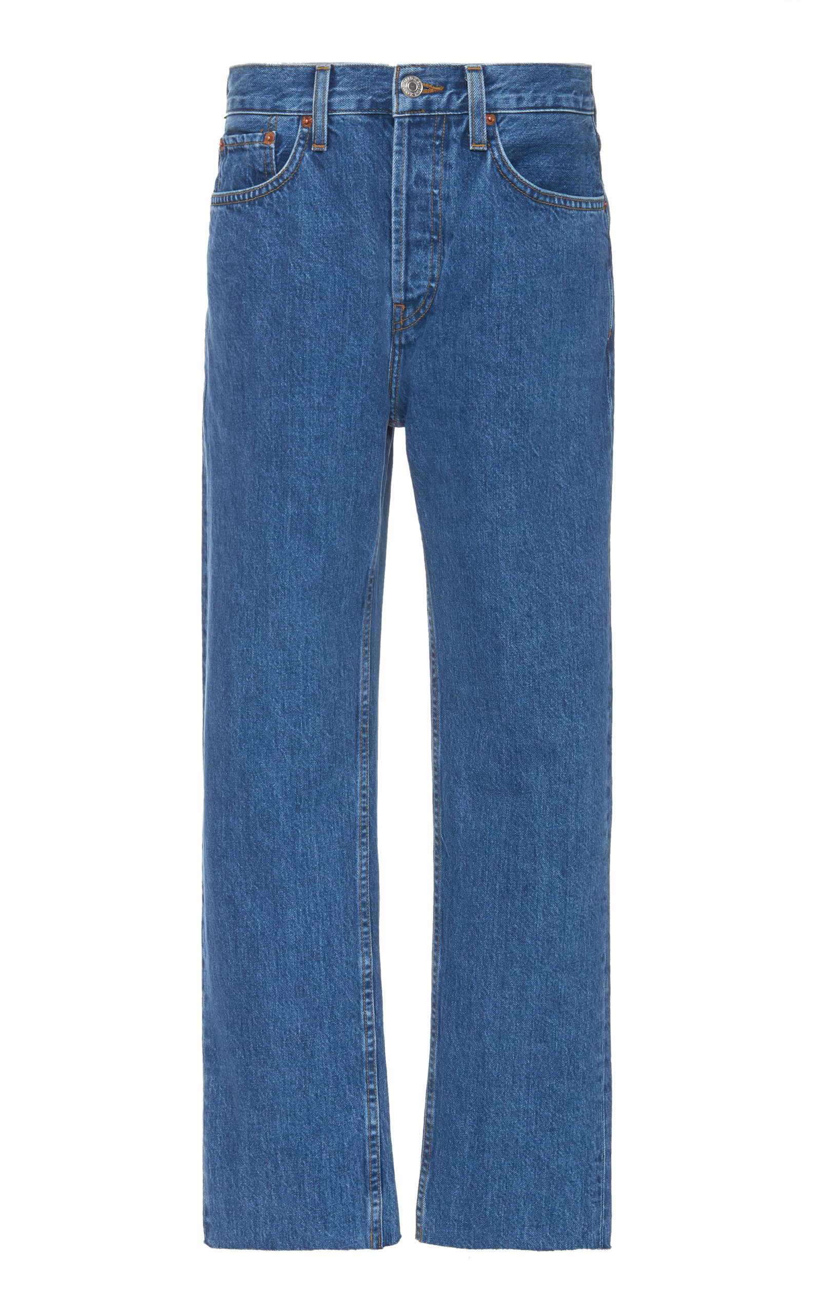 Frame | FRAME Le High High-Rise Straight-Leg Jeans | Clouty