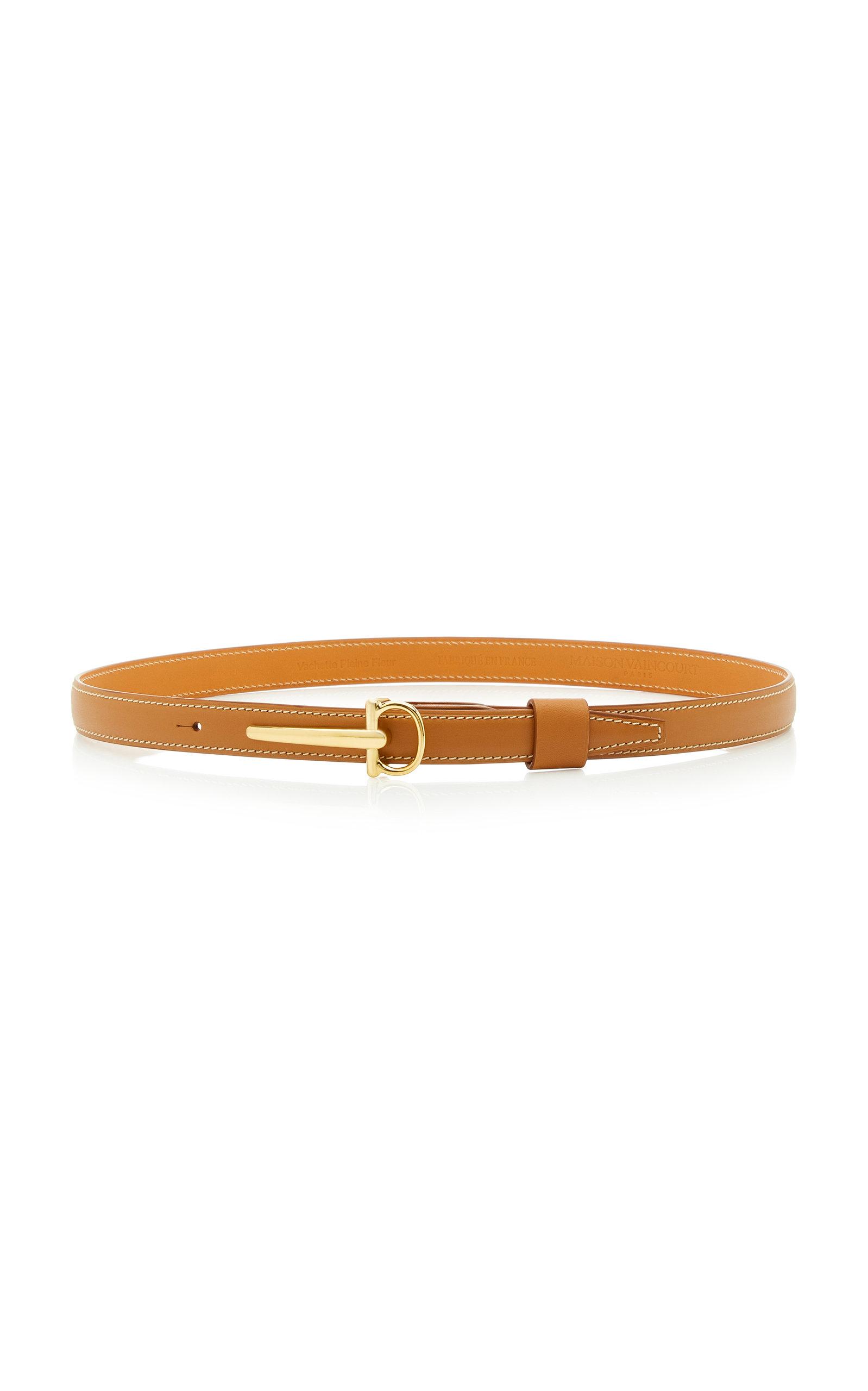 Maison Vaincourt | Maison Vaincourt Skinny Leather Belt | Clouty