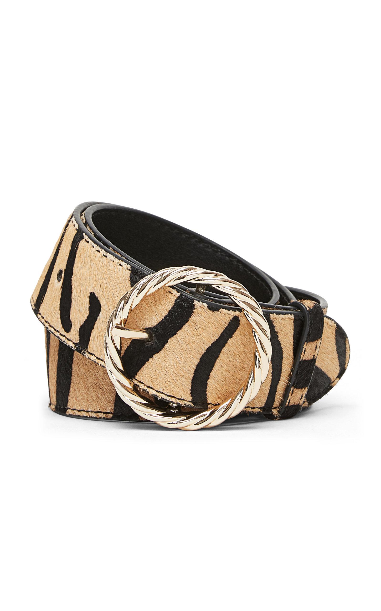 Loeffler Randall | Loeffler Randall Leo Twisted Leather Belt | Clouty